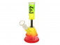 "Preview: Glasbong ""Micro Bong"" Set Rasta - 16 cm"