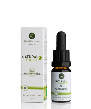 BioBloom CBD Öl – NaturalEIGHT - 10ml