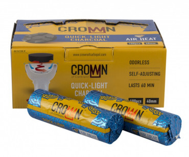 Carbopol Crown - 40mm - 100er Pack