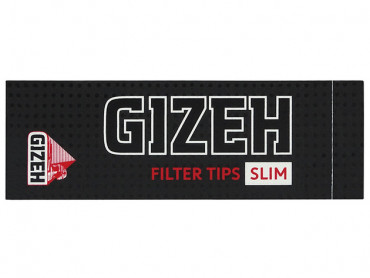 Gizeh Black Filter Tips Slim - 35 Blatt