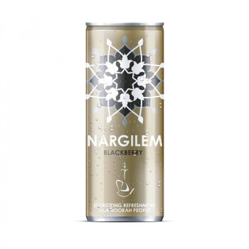 Nargilem Energy Drink - Blackberry